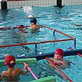 Les élèves de cycle 2 à la piscine