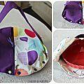 sac a tarte violet