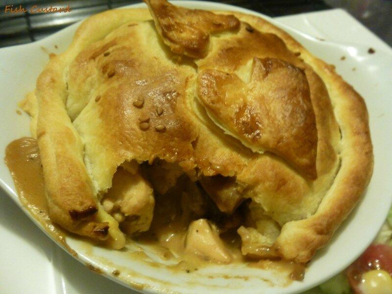 Tourte au poulet et aux champignons de Jamie Oliver (27)