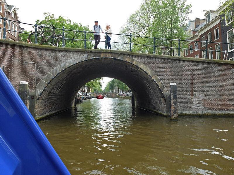 Amsterdam, enfilade de 7 ponts