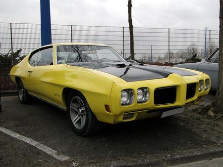 PONTIAC GTO Hardtop Coupe 1970 Salon Champenois du Vehicule de Collection de Reims 2010 1