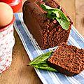 Cake chocolat - menthe délicieux & allégé