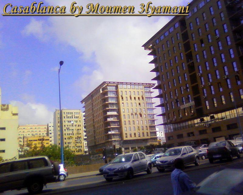 Casablanca day traffic