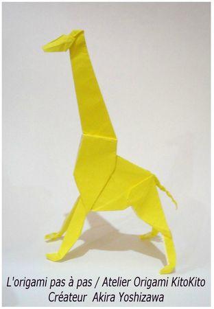 Atelier Origami KitoKito Girafe