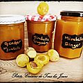 Confiture mirabelles - gingembre