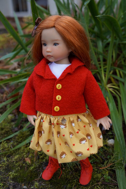 Annie Little Darling de Dianna Effner est prête pour l'hiver !