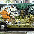 la camionnette du crayon polisson