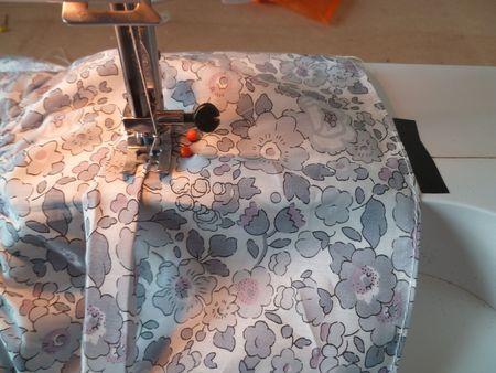 blouse froncée grise liberty 014