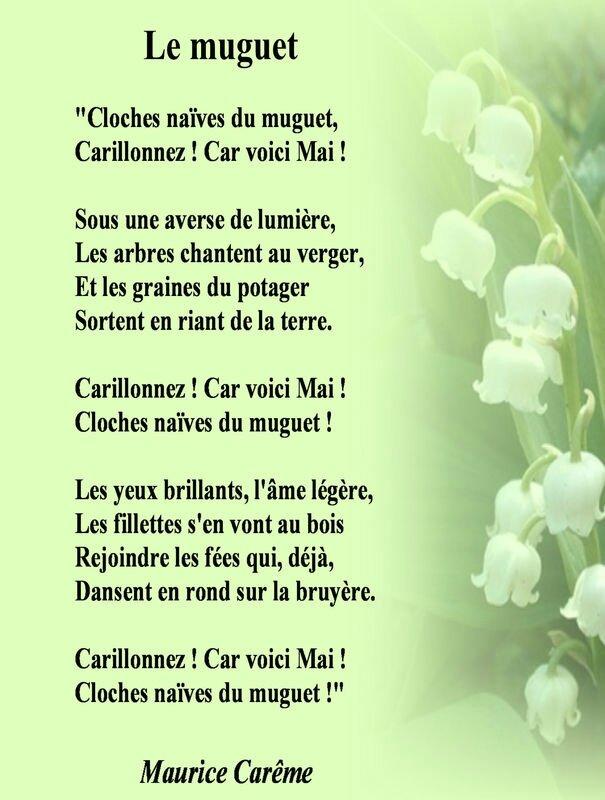 Poème muguet