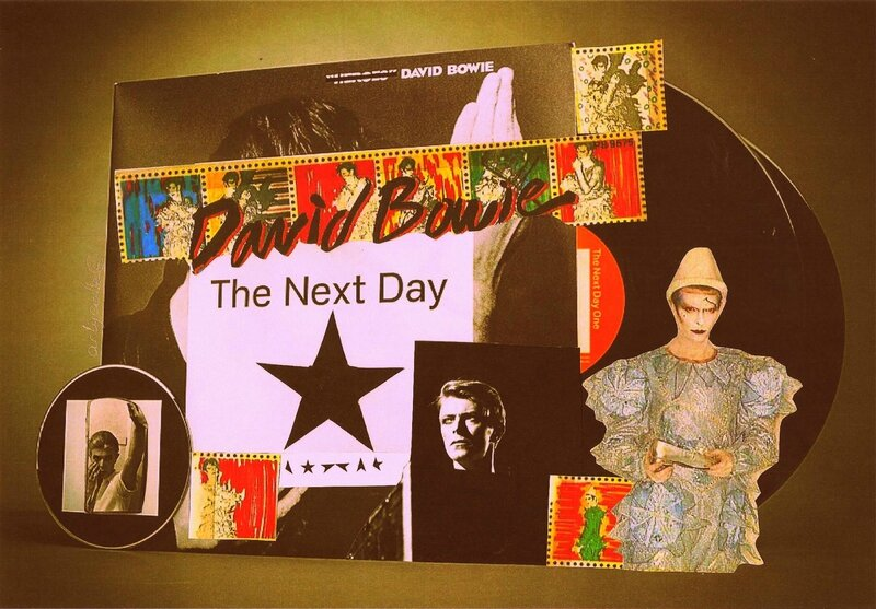 Collage artycolle David Bowie
