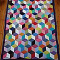 Vasarely Blanket (1)