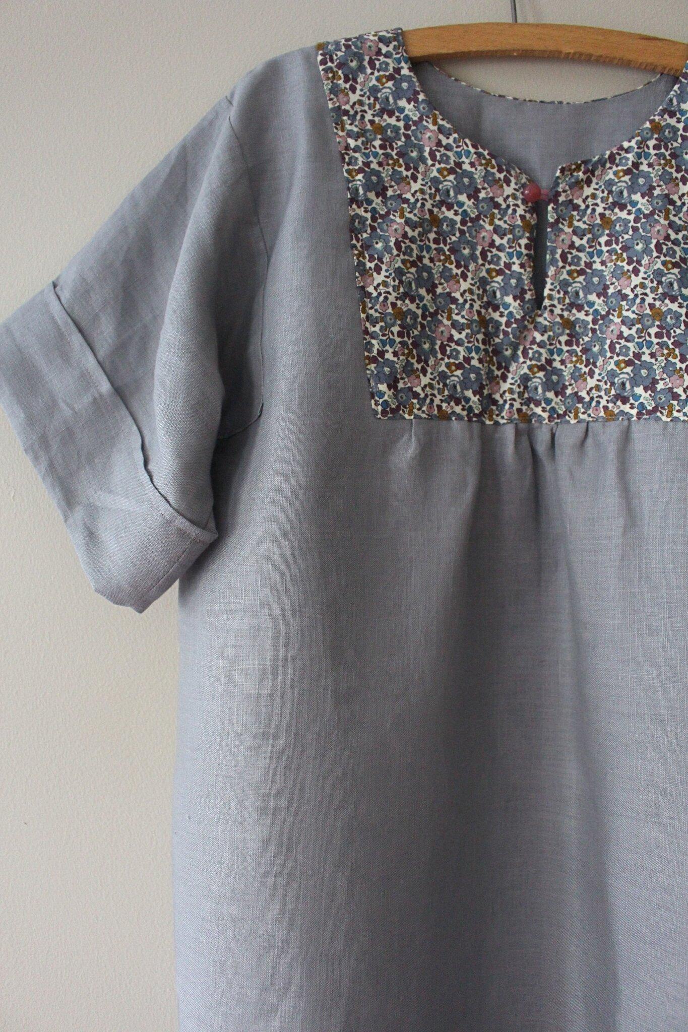 Robe lin/Liberty