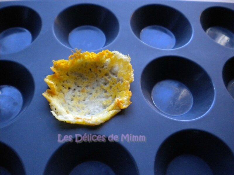 Comment faire des corolles en tuile de parmesan 7