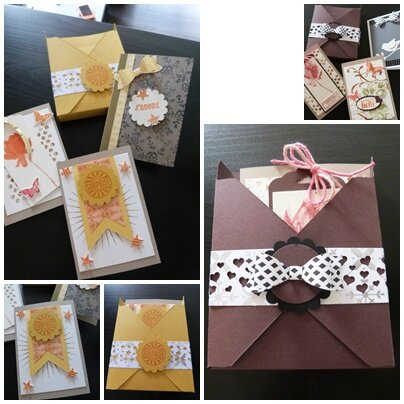 carte atelier stampin up