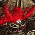 Loups vénitiens à porter pour le carnaval ou objets décoratifs