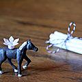 Anniversaire : des petits chevaux pour une fan d'équitation (à imprimer - gratuit)