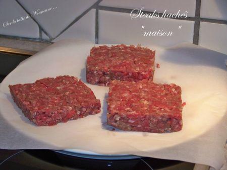 Steaks hachés maison 1
