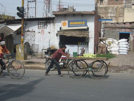 Photo 5 sur la route d'Agra
