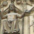 Portail du jugement dernier: le Christ
