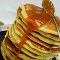 Pancakes à la crème