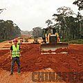 Le chantier de l'autouroute yaoundé-nsimalen bouge