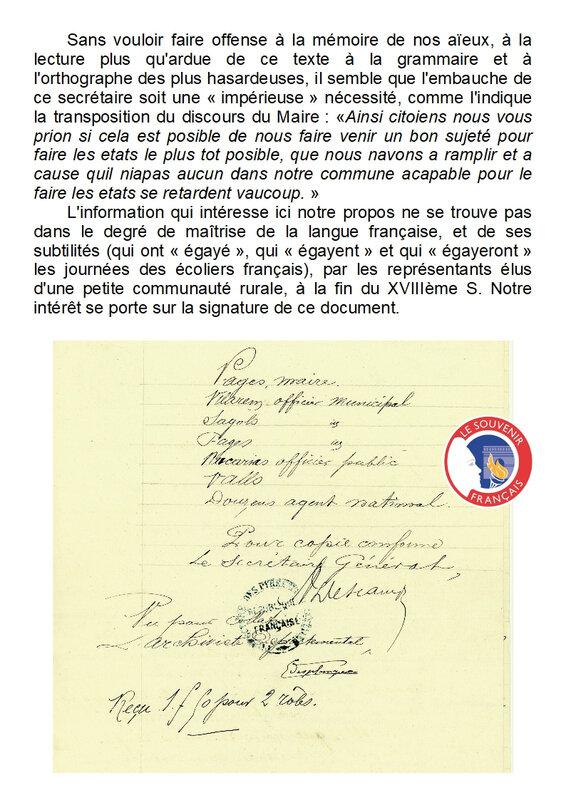 16) La composition du Conseil minicipal, 1793-1795 - Page 4