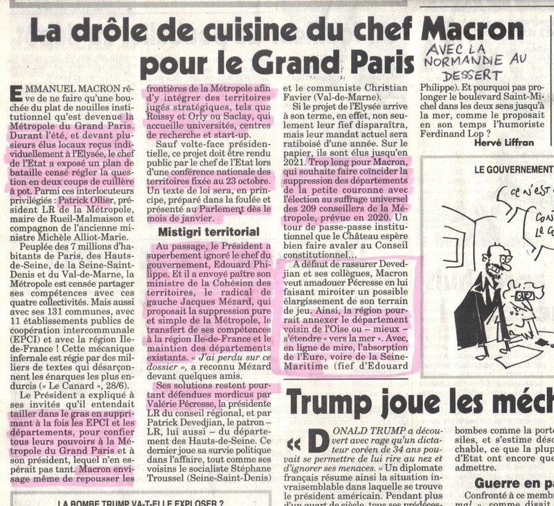 Macron veut détruire la Normandie