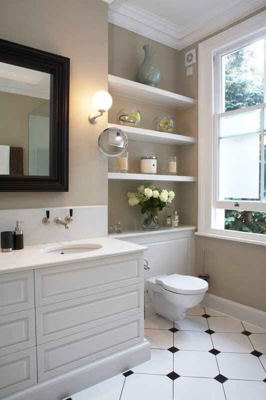 london-french-country-bathrooms-with-modern-toilet-bowls-bathroom-traditional-and-flower-black-framed-mirror