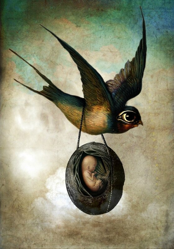Catrin Welz-Stein - German Surrealist Graphic Designer - Tutt'Art@ (83)