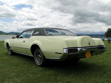 LINCOLN Continental Mark IV Hardtop Coupe 1972 Retro meus Auto Lac de Madine 2010 2