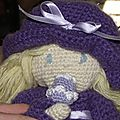 cupcake poupée au crochet coton fifty 11