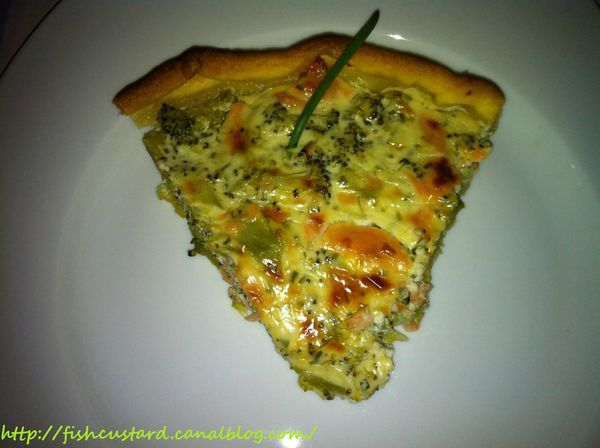 Quiche brocolis-saumon-boursin (3)