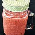 Smoothie fraises melon