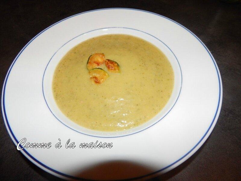 131202 - Velouté courgettes jambon carré frais (13)