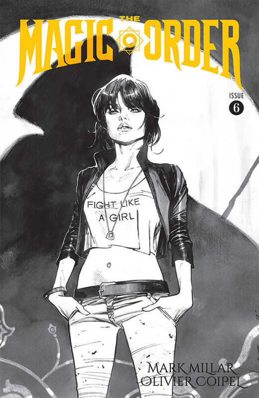 image the magic order 06 coipel b&w variant