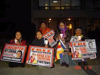 china stop execution tibetans