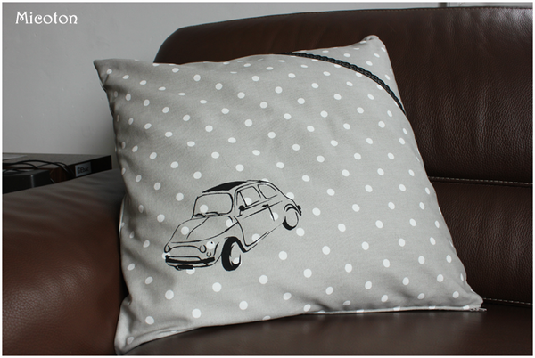 coussin fiat 500 3