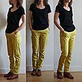 pantalon jaune 2