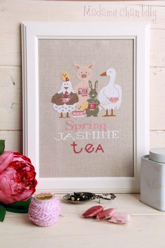 spring jasmine tea 1