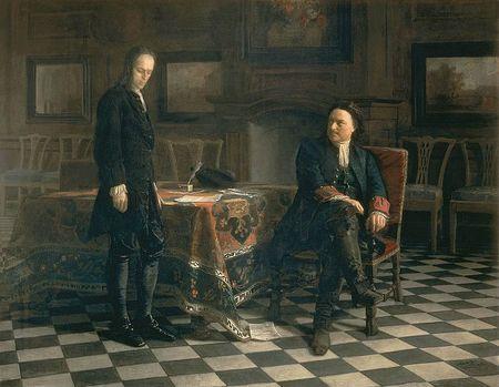 772px-Peter_the_Great_Interrogating_the_Tsarevich_Alexei_Petrovich[1]