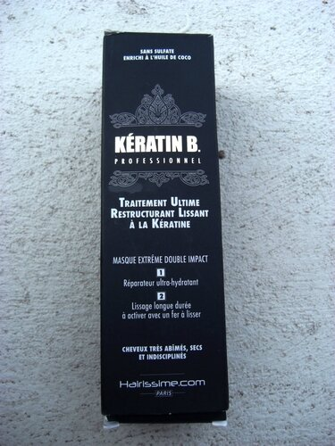 hairissime keratin b lissage à la keratine masque keratine cheveux frisés princesse affreuse (1)