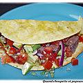 Tacos a la langue de boeuf