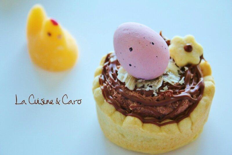 tartelette_chocolat_croustillant_praliné_pâques