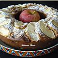 Ciambellone aux pommes et mascarpone, le bélem