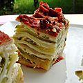 Lasagnes aux courgettes & ricotta