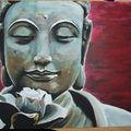 Bouddha ; 4o x 3o cm