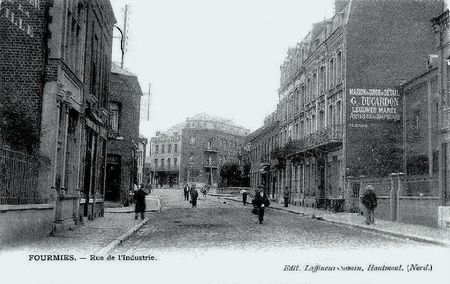 FOURMIES-Rue de l'industrie 1903
