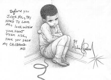 mj-childhood-drawing