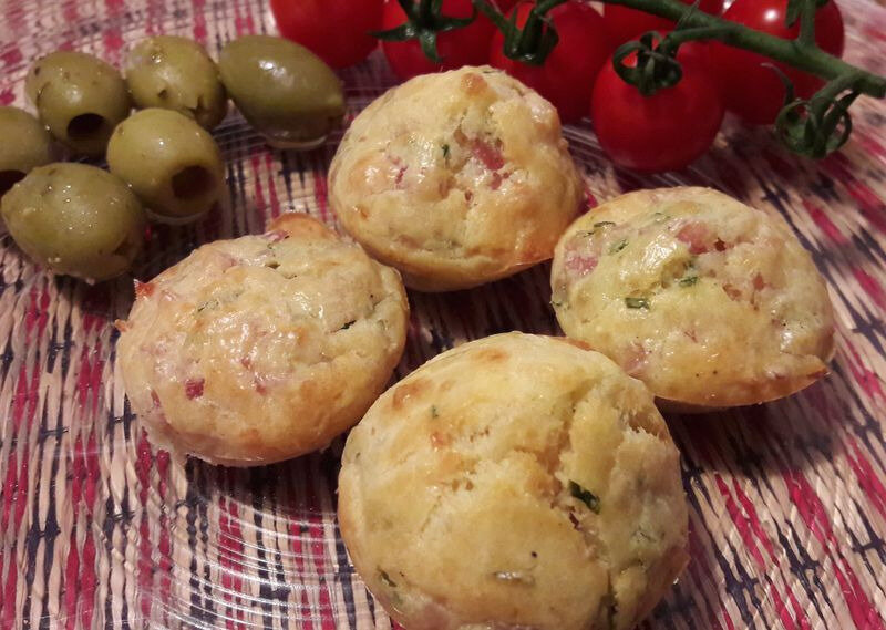 bouchées parmesan-jambon-ciboulette (1)