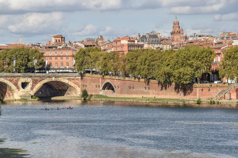 Garonne et Pont Neuf